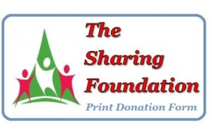 Print Donation Form
